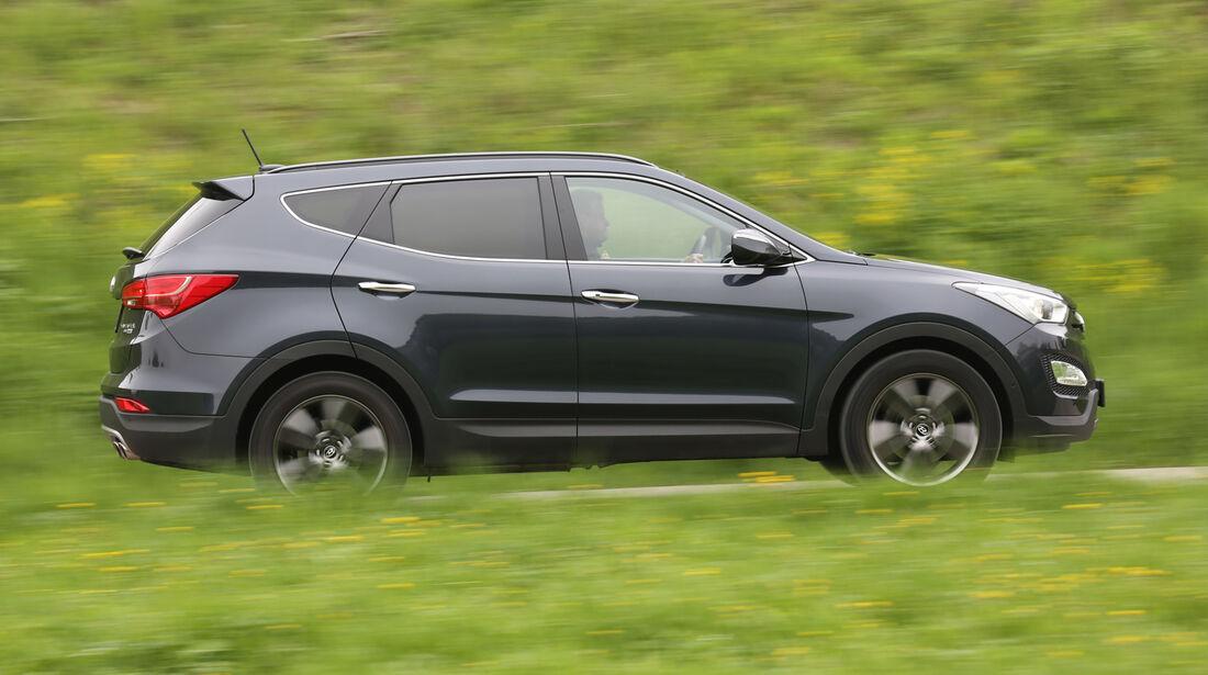 Hyundai Santa Fe 2.2 CR Di 4WD, Seitenansicht