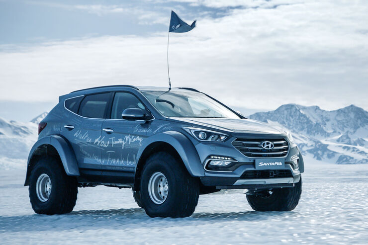 Hyundai Santa Fe Antarktis Expedition