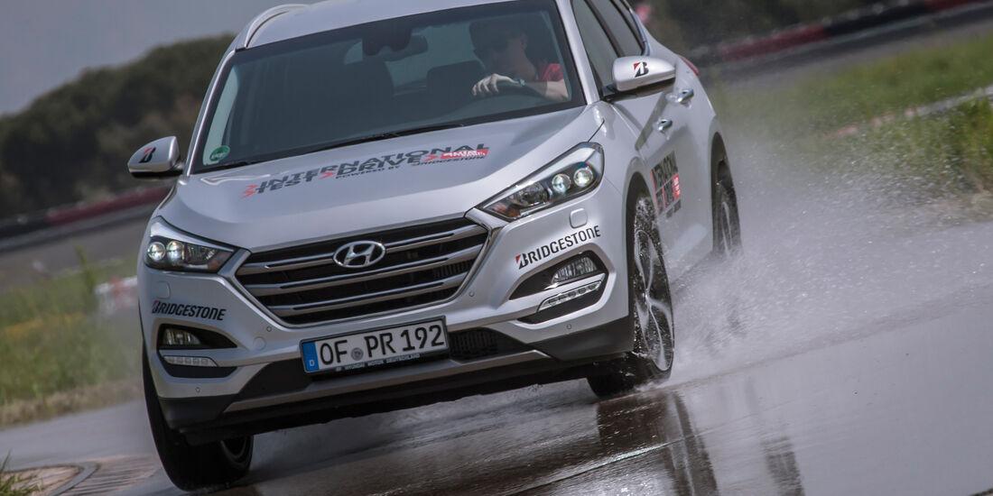 Hyundai Tucson 1.6 Turbo 4WD, Frontansicht