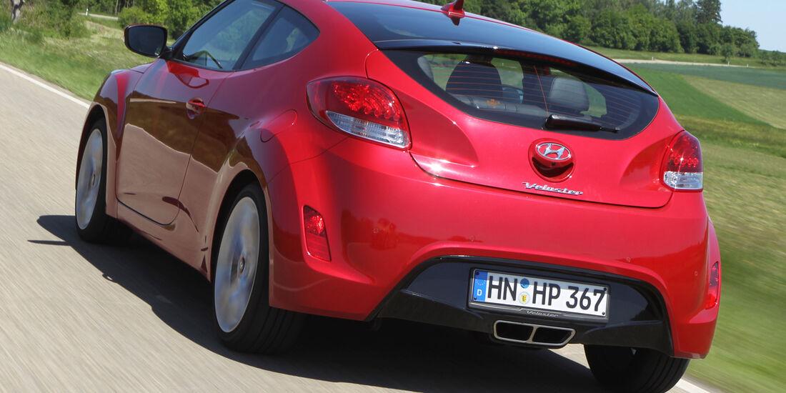 Hyundai Veloster 1.6 GDI, Heckansicht