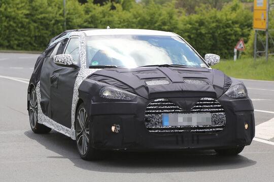Hyundai Veloster Facelift Erlkönig