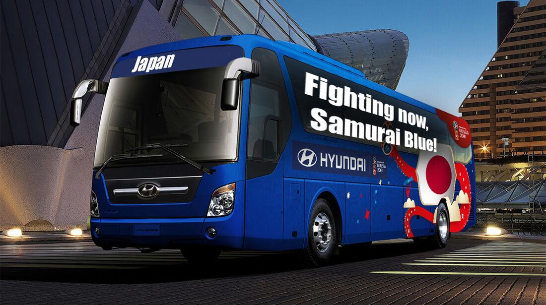 Hyundai WM-Busse Slogan Japan