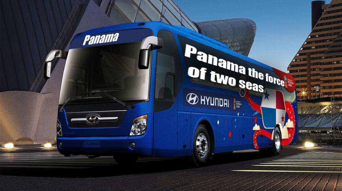 Hyundai WM-Busse Slogan Panama