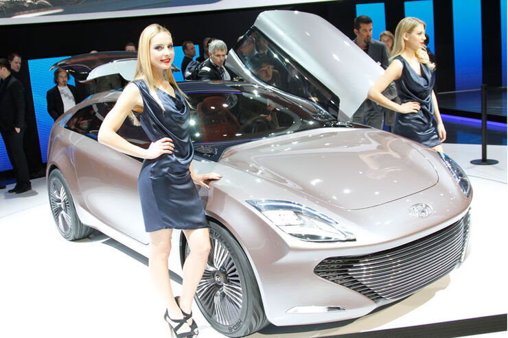 Hyundai i-oniq, Genf 2012