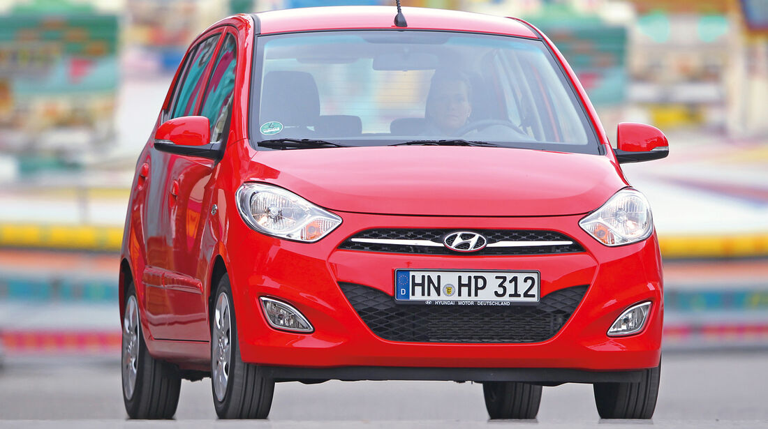 Hyundai i10 1.1, Frontansicht