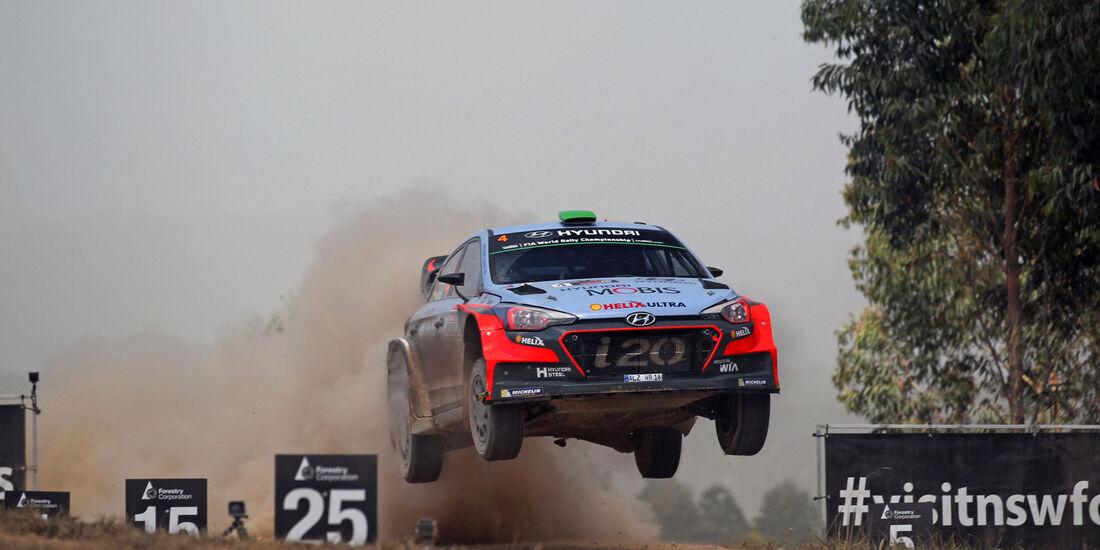 Hyundai i20 WRC - Australien 2016 - Rallye-WM