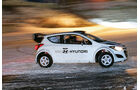 Hyundai i20 WRC, Heckansicht, Driften