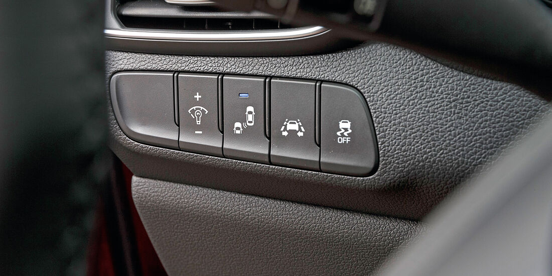 Hyundai i30 1.0 T-GDI, Bedienelemente