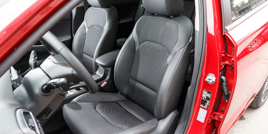 Hyundai i30 1.0 T-GDI, Fahrersitz