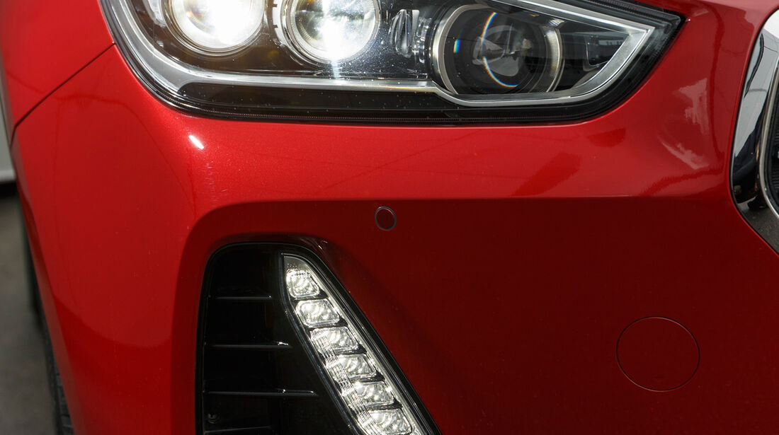 Hyundai i30 1.0 T-GDI, Frontscheinwerfer
