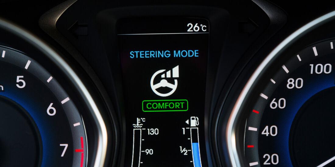 Hyundai i30 1.6 GDi, Bordcomputer