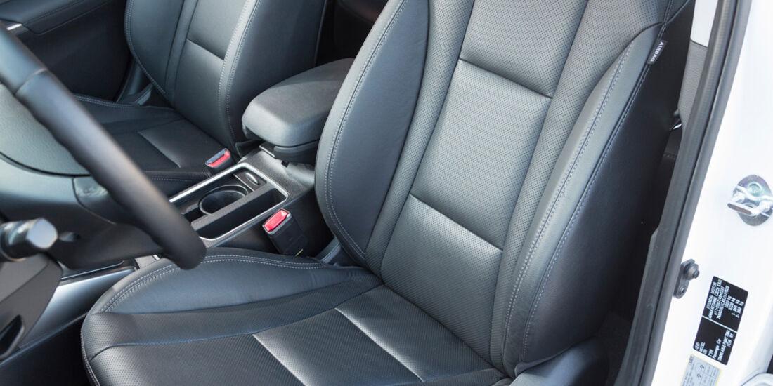 Hyundai i30 1.6 GDi, Fahrersicht