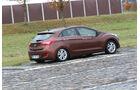 Hyundai i30, Bodenwellen, Fahrwerk