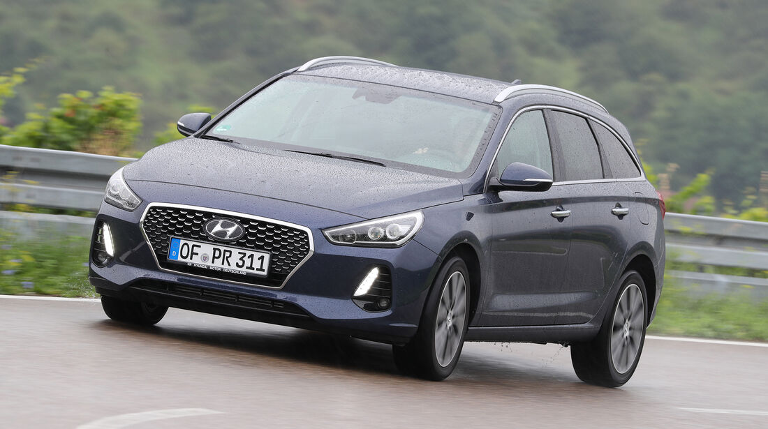 Hyundai i30 Kombi 1.4 T-GDI, Front