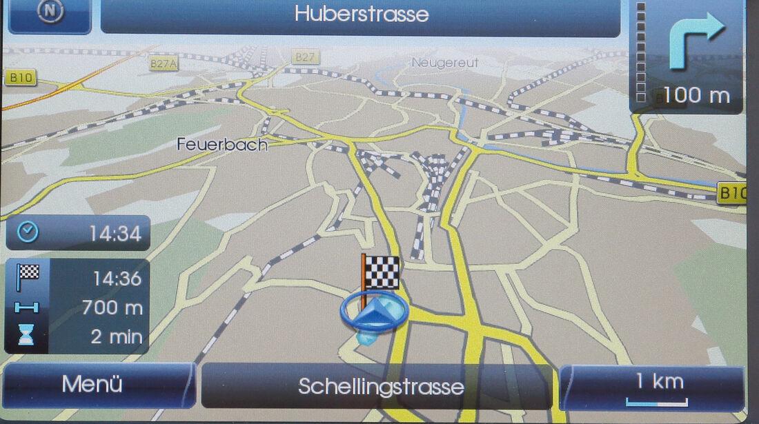 Hyundai i30, Navigation