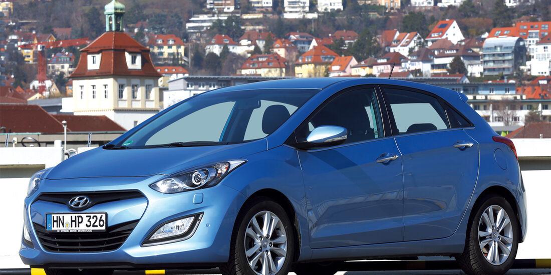 Hyundai i30, Seitenansicht