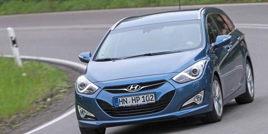 Hyundai i40 1.7 CRDi, Frontansicht