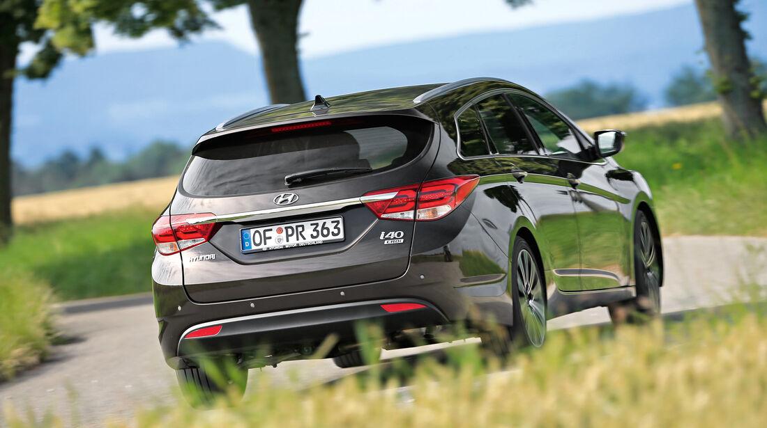 Hyundai i40 Kombi 1.7 CRDi, Heckansicht