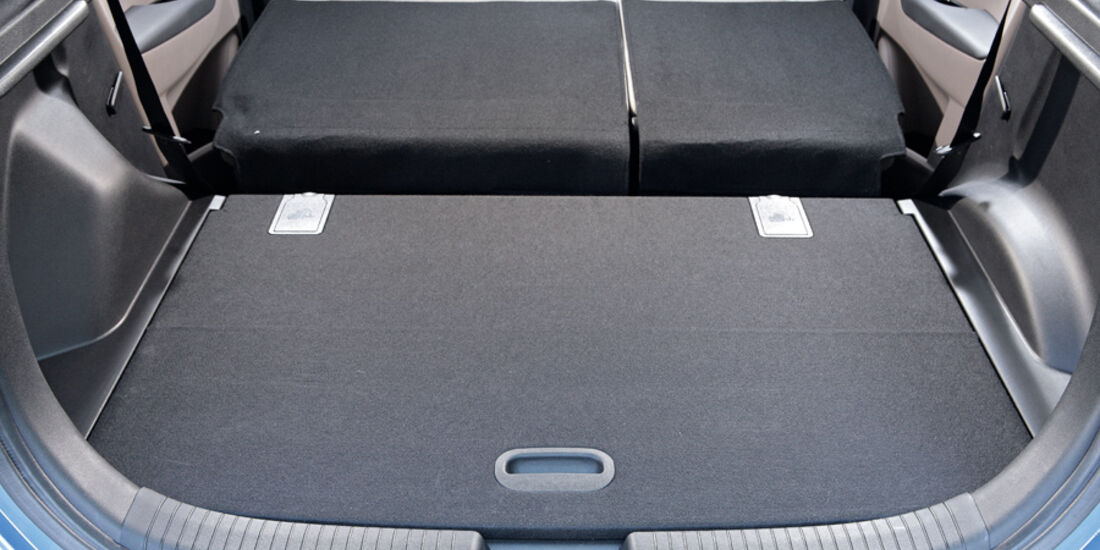 Hyundai ix20, Detail, Kofferraum