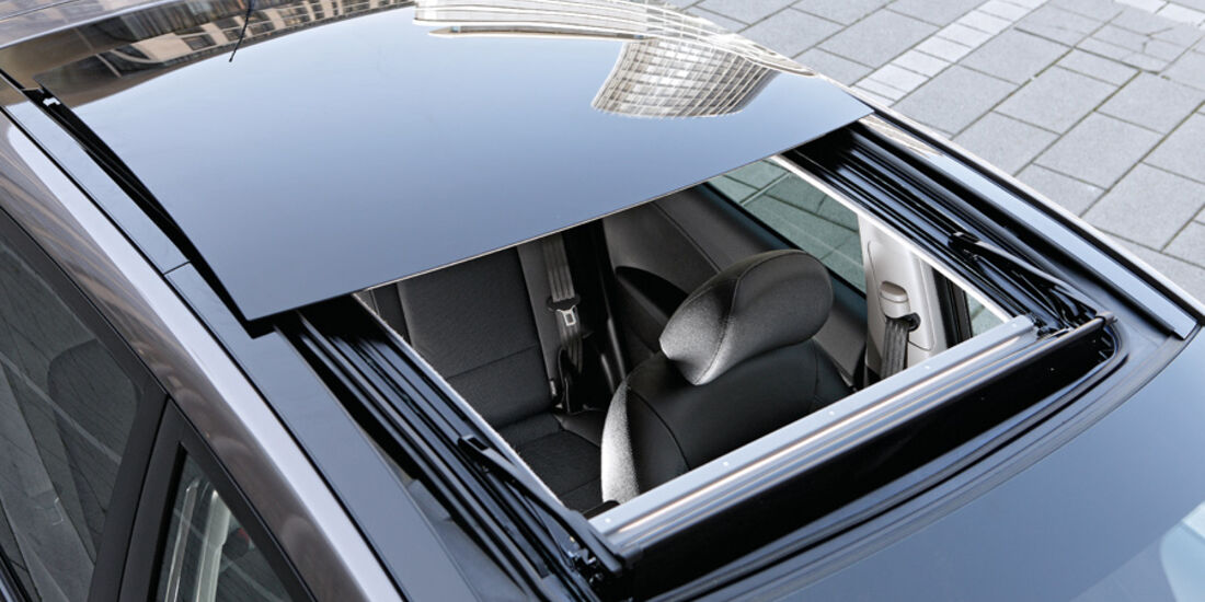 Hyundai ix20, Detail, Schiebedach