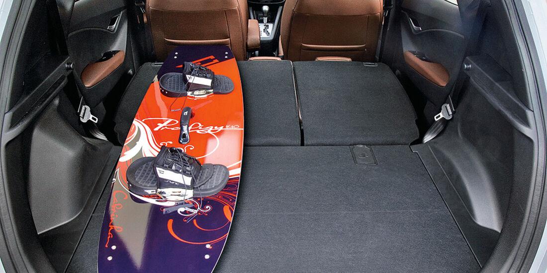 Hyundai ix20, Kofferraum