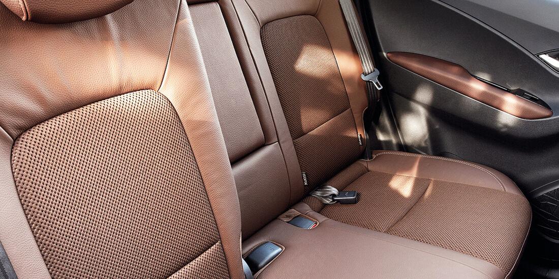 Hyundai ix20, Rücksitze