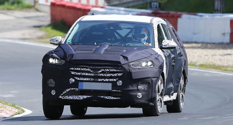 Hyundai ix35 Erlkönig