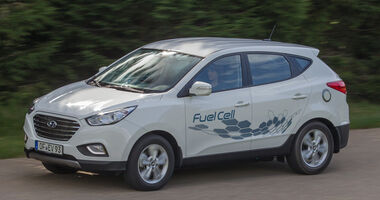 Hyundai ix35 Fuel Cell, Seitenansicht