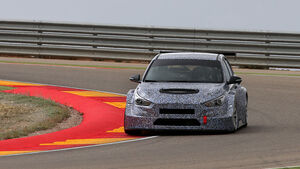 Hyundia i30 TCR - Tourenwagen - Test - Aragon