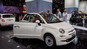 IAA 2015, Fiat 500 Facelift