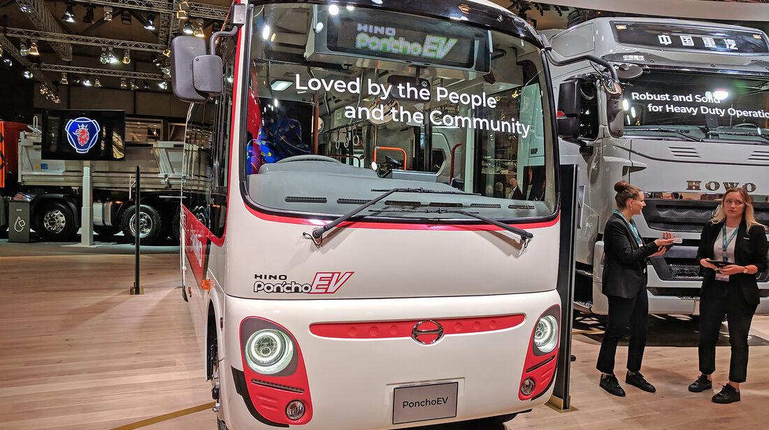 IAA Nutzfahrzeuge 2018 Hino PonchoEV