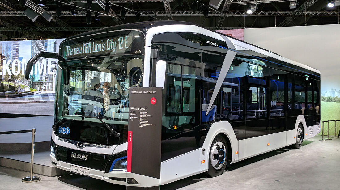 IAA Nutzfahrzeuge 2018 MAN Lion's City 12 E