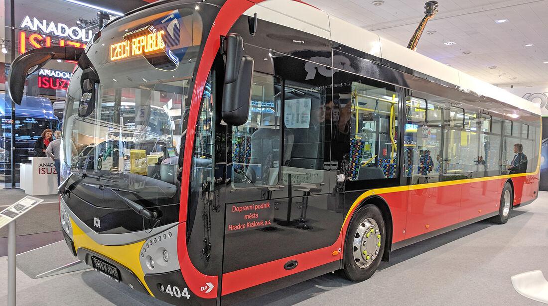 IAA Nutzfahrzeuge 2018 SOR NS 12 Electric