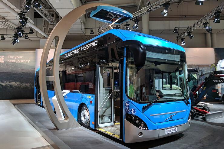 elektro linienbusse iaa 2018 markt berblick reichweite auto motor und sport. Black Bedroom Furniture Sets. Home Design Ideas