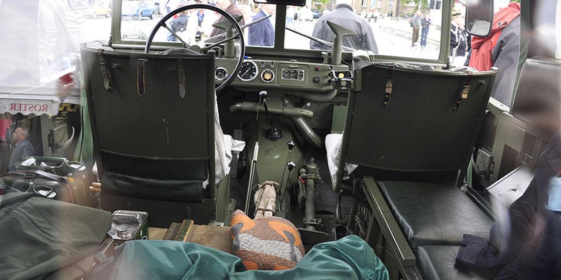 IFA P3 Innenraum