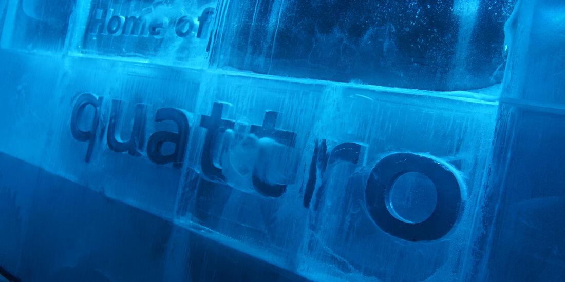 Ice Ice Audi Quattro IAA 2015