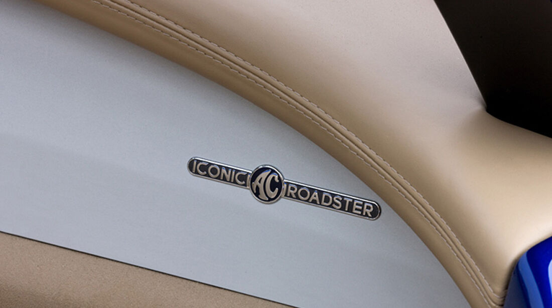 Iconic AC Roadster Cockpit