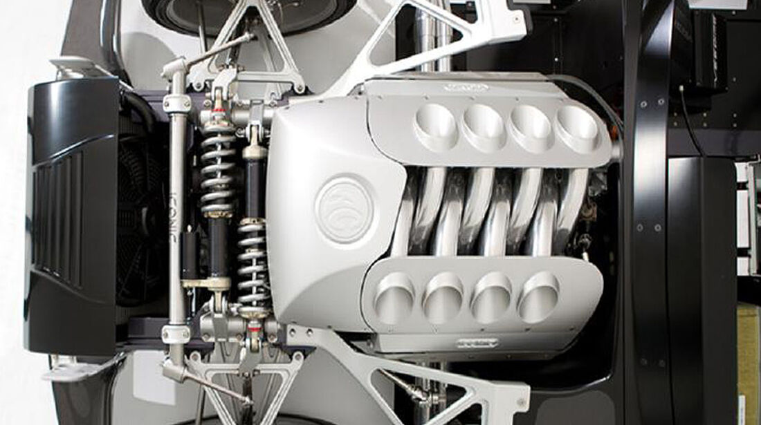 Iconic AC Roadster Motor