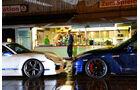 Importracing-Nissan GT-R, Techart-Porsche 911 Turbo S, Schnauze