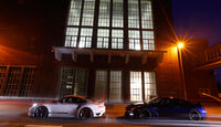Importracing-Nissan GT-R, Techart-Porsche 911 Turbo S, Seitenansicht