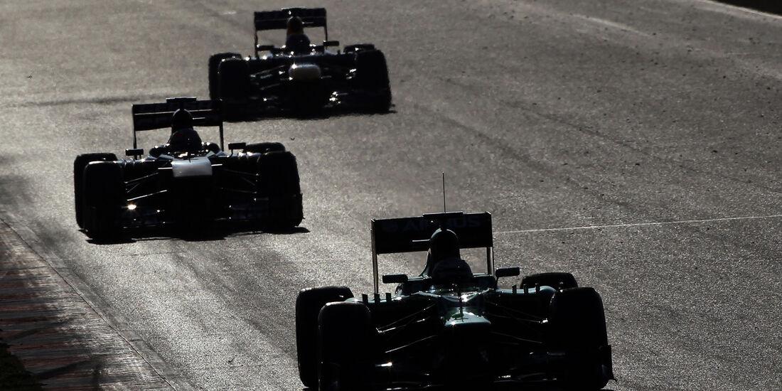Impressionen F1 Test Barcelona 2013