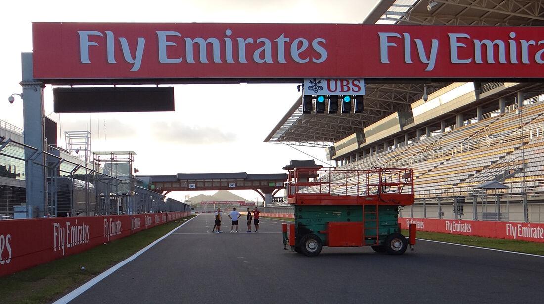 Impressionen - Formel 1 - GP Korea - 2. Oktober 2013