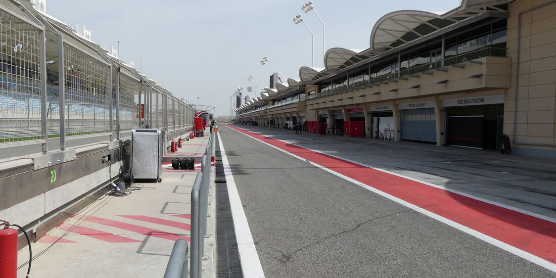 Impressionen - Formel 1 - Testfahrten - Bahrain - Mittwoch - 19.4.2017