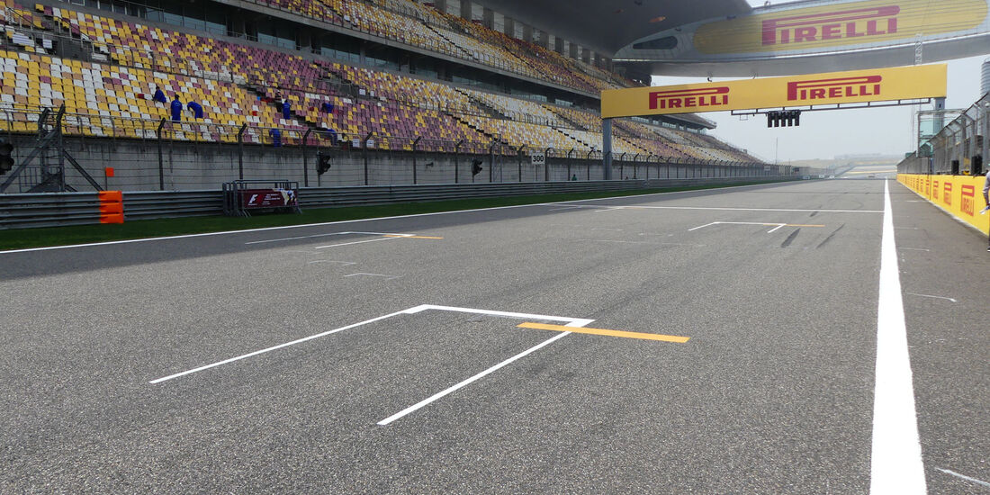 Impressionen - GP China - Shanghai - Donnerstag - 14.4.2016