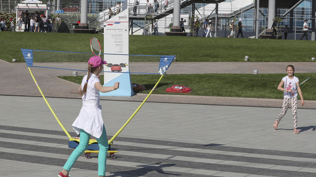 Impressionen - GP Russland 2017