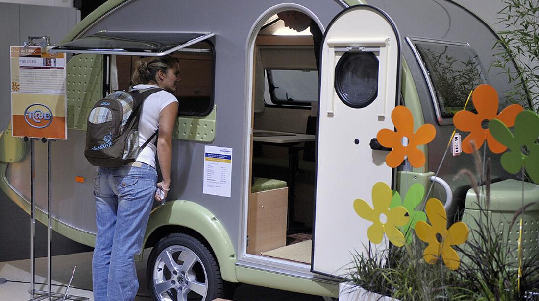 Impressionen vom Caravan Salon 2010