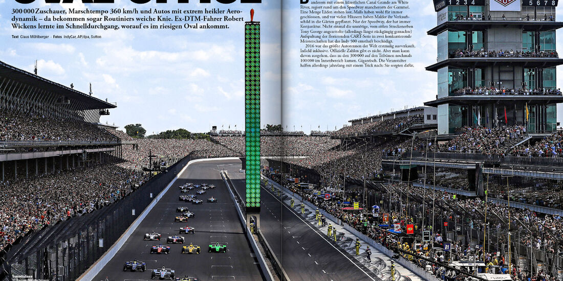 Indy 500 - Screenshot - sport auto 7/2018