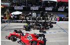 IndyCar - Motorsport - Boxenstopp - Long Beach