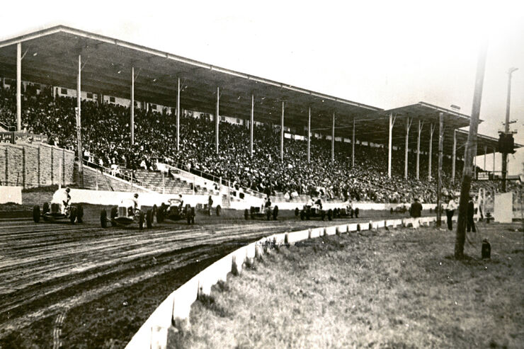 Indycar Milwaukee, 1903, Sandrennbahn