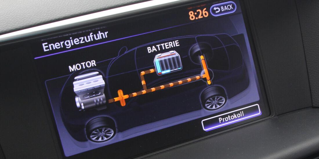Infiniti M35h GT Premium, Display, Anzeige